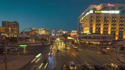 Time Lapse of the Las Vegas Strip