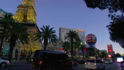 The Paris Hotel and Las Vegas Strip