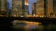 Time Lapse Chicago, Chicago River and State Street