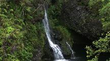 Hanawi Falls, Hana Highway, Maui