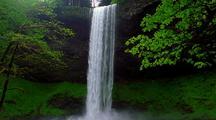 Waterfall At Silver Falls Park Oregon