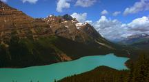 Time Lapse At Peyto Lake, Banff National Park