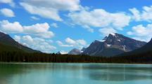 Time Lapse Of Lake In Banff National Park