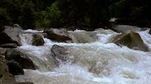 River Rapids Over Boulders, Yosemite