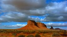 Time Lapse At Monument Valley