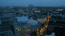 Time Lapse Of Vienna Skyline