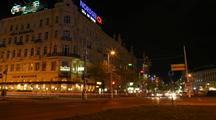 Time Lapse Of Vienna At Night