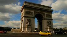 Time Lapse Of Arc De Triomphe