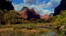 Time Lapse At Zion National Park