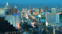 Time Lapse Of Las Vegas Strip