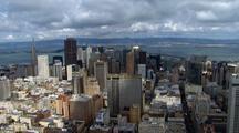 Aerial Of San Francisco, Ca