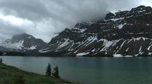 Mountain Lake In Banff National Park