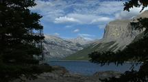 Mountain Lake In Banff National Park