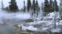 River With Snowy Banks, Yellowstone National Park