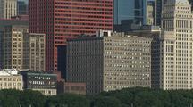 Chicago Skyline, Waterfront From Adler Planetarium