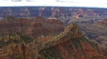 Aerial View Of Grand Canyon, Rock Formations, Cliffs