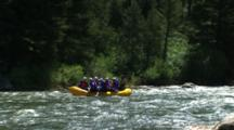 White Water Rafting In Rapids
