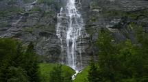 Time Lapse Waterfall, Interlaken, Switzerland