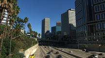 Highway Near Buildings, Los Angeles
