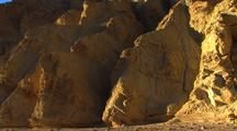 Driving On Dirt Road In Death Valley, Erosion, Rock Formations