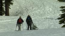 Snowshoeing At Mount Shasta