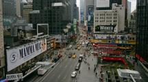 Time Lapse Broadway Near Times Square