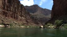 Travel Down River In Grand Canyon