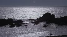 Sun Lights Calm Ocean