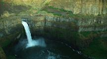 Overlook Panoramic View Of Canyon And Palouse Falls