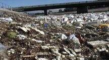 River Of Trash Moves Slowly In Los Angeles