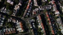 Aerial Sydney, Looking Down On Suburbs