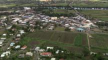 Aerial, Landscape And The Fiji Water Factory, Viti Levu, Fiji