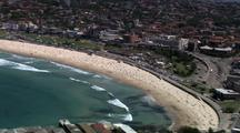Aerial Over Bondi Beach Lifesaving Club