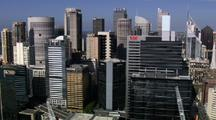 Aerial Sydney Central Business District
