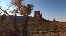 West Mitten Butte, Monument Valley Navajo Tribal Park, Zoom In