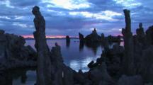 Tufa Formations At Mono Lake, California (Made Of Limestone)