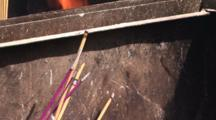 Incense Burning At Lama Temple