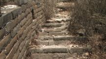 Original Section Of The Great Wall Of China