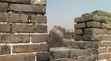 Original Section Of The Great Wall, China, Jinshanling, Zoom In