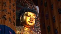 Golden Buddha, Jade Buddha Temple, Shanghai, China