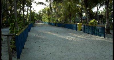 A road on the inhabited island, Palau Airborek