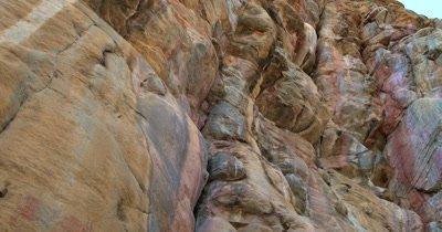 Bushman rock paintings Antelope on a quartzite rock face at Tsodilo Hills