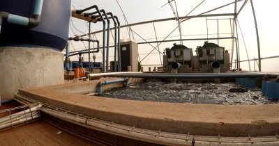 The Filtration system at Chobe Tilapia Aquaculture Project