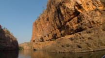 POV Travel Down Katherine Gorge, Northern Territory