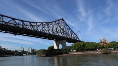 Story Bridge Brisbane,from river