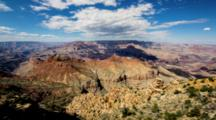 Grand Canyon, Scenic Timelapse From Desert View Watchtower