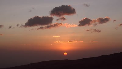 Simien mountains sunset