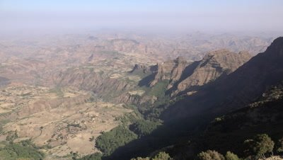 Simien mountains panorama pan RL