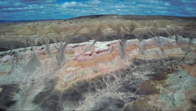 Sarmiento aerial, straight forward move to the plateau