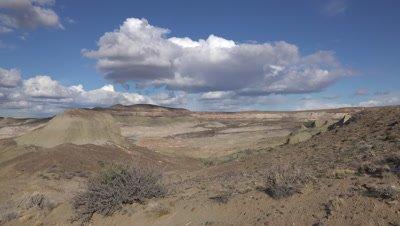 Sarmiento moon valley, wide pan